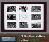 SR Eight Photo Wall Frame MESH (mod/copy)