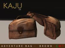 Kaju People - Adventure Bag Rigged - Brown