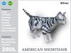 [TomatoPark] American Shorthair Silver v3.3 ( roaming + wearable )