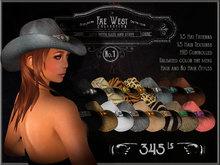 Steelhead Fae West Cowboy Hat No.1 [wear to unpack] 1.22