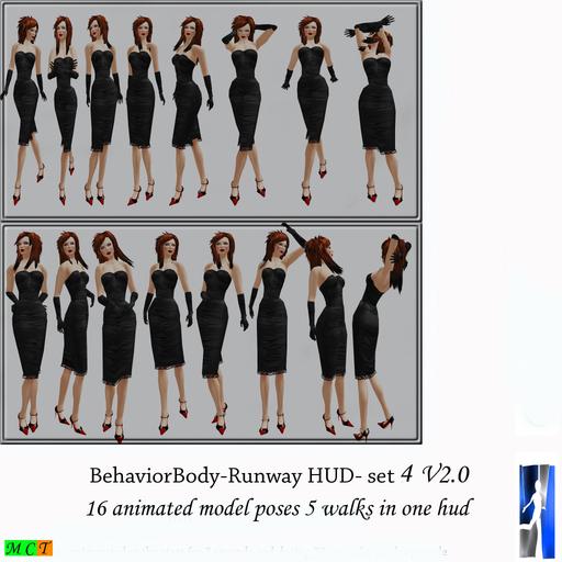 BehaviorBody Runway Complete set 4 V2.0