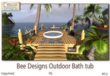 Bee Designs Outdoor Bath tub PG