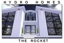 Hydro Homes - The Rocket - 512 Modern House Houses Home Homes Prefab Prefabs shop shops store store