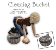 Sway's Cleaning Bucket