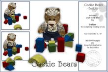 """Sway`s Cookie Bear """"Builder"""""""