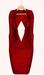 The Annex - Natasha Dress - Red
