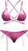 Blueberry - Peachkini Mesh Bikini - Maitreya Lara, Belleza Freya Isis Venus, Slink Physique Hourglass - Pink