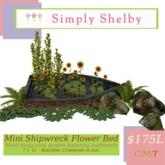 !!!! PROMO - MIDWEEK $35L !!!!Simply Shelby Mini Shipwreck Garden
