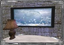 *⊱•Enchanted Water Feature•⊰*  Wall Aquarium