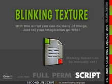 Gaagii - Blinking Texture Script (full perm)