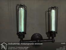 [ht:home] industrial steampunk sconce