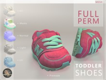 Toddler Shoes - Full Perm Sneakers