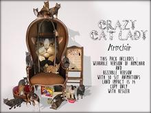 Boudoir-Wearable/Rezzable Crazy Cat Lady Armchair