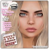 *YS&YS* Malika Tone 03 Skin Applier for Catwa Heads