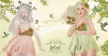 :Moon Amore: Soleil Dress / Green
