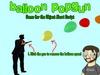 Balloon popgun