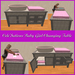 Cele'sations baby girl changing table