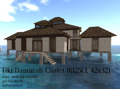 Tiki Damarah Chalet II(125LI, 42x32)