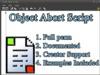 Object Abort Script