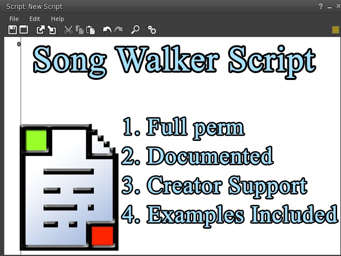 Song Walker Script