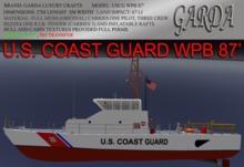 United States Coast Guard Patrol Boat  WPB 87