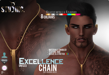 [STUD INC.] - Excellence Chain (ADD ME TO UNPACK)