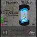 Sci Fi Cyborg CryoTube TipJar - Sparks -