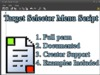 Target selector menu script