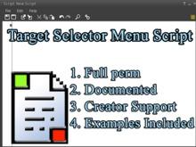 Menu Target Selector Script