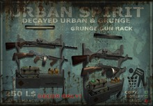 Grunge Gun Rack
