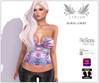 {Lyrium} Floral corset + Appliers PROMO