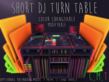 Short Dj Turn Table - Strange Merchant