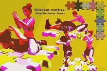 [HD]Workout mattress(High Resilience foam)  /Original Animation