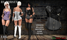 B BOS -Ry Corset-Black-