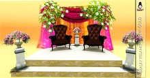 BABEY | MALAY WEDDING - PELAMIN PINK GOLD