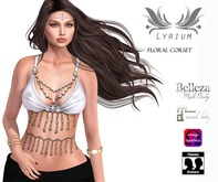 {Lyrium} Arabic top + Appliers