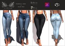 {Lyrium} High waist jeans 4 color pack Updated Version