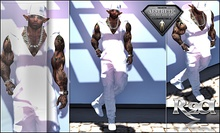 R2A AESTHETIC ALL WHITE OUTFIT