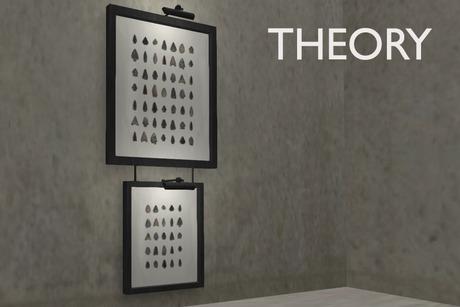 THEORY Arrowhead Display 3 prim Mesh