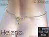 -KC- HELENA WAIST CHAIN / MAITREYA, BELLEZA, HOURGLASS & MORE