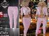 [PPD] Eternal Sin Leather Pants - Pastel Pink