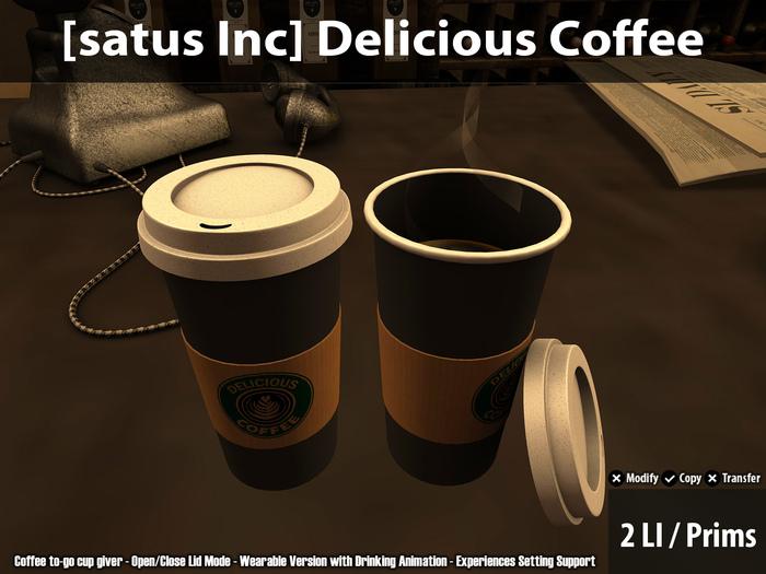 [satus Inc] Delicious Coffee