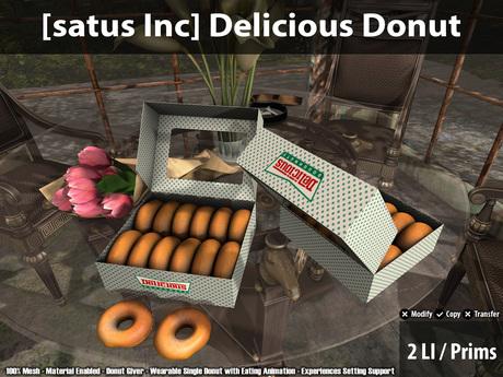 [satus Inc] Delicious Donut