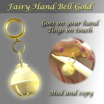Fairy Hand Bell Gold (Retail SLX)