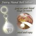 Fairy Hand Bell Silver (Retail SLX)