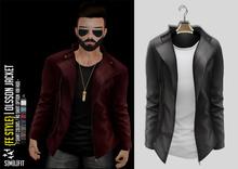 {Fe Style} Olsson Jacket w/Shirt - [Gray]