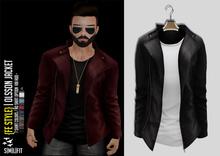{Fe Style} Olsson Jacket w/Shirt - [Black] [BOX]