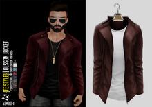 {Fe Style} Olsson Jacket w/Shirt - [Auburn]
