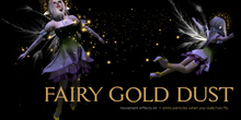**CC** - Fairy Gold Dust (movement fx kit)