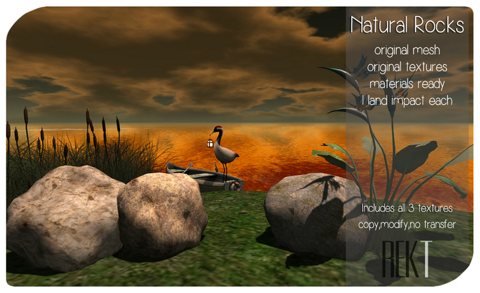 Rekt Natural Rocks Pack